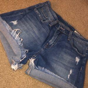Jean shorts !!!